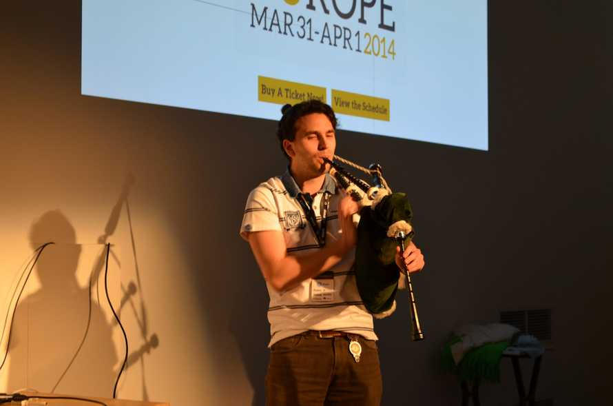 Bagpipes lightning talk