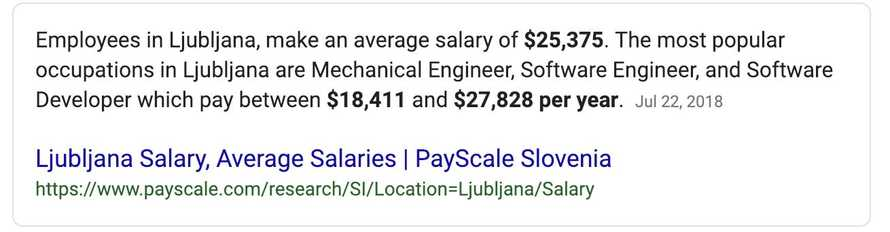 "Google result for ""Slovenia median wage"""