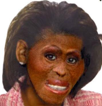 michelle-obama-ape
