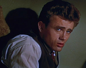 as Cal Trask in East of Eden (1955)