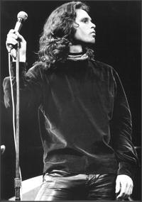 Jim Morrison at The Fillmore East in New York,...