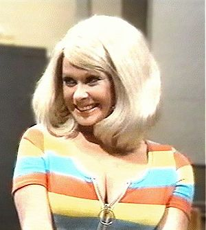 """Carol Cleveland as the stereotypical """"blo..."""