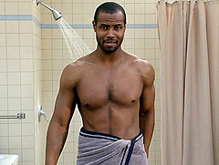 Old Spice Guy in a Towel