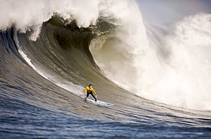 Mavericks Surf Contest 2010.
