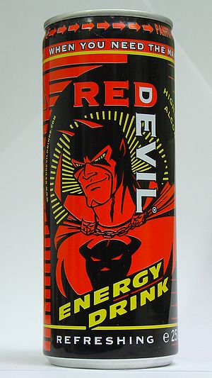 A can of Red Devil.