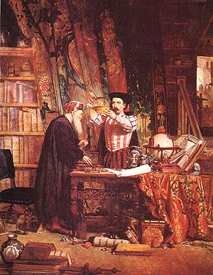 """""""The Alchemist"""" by William Fettes Do..."""