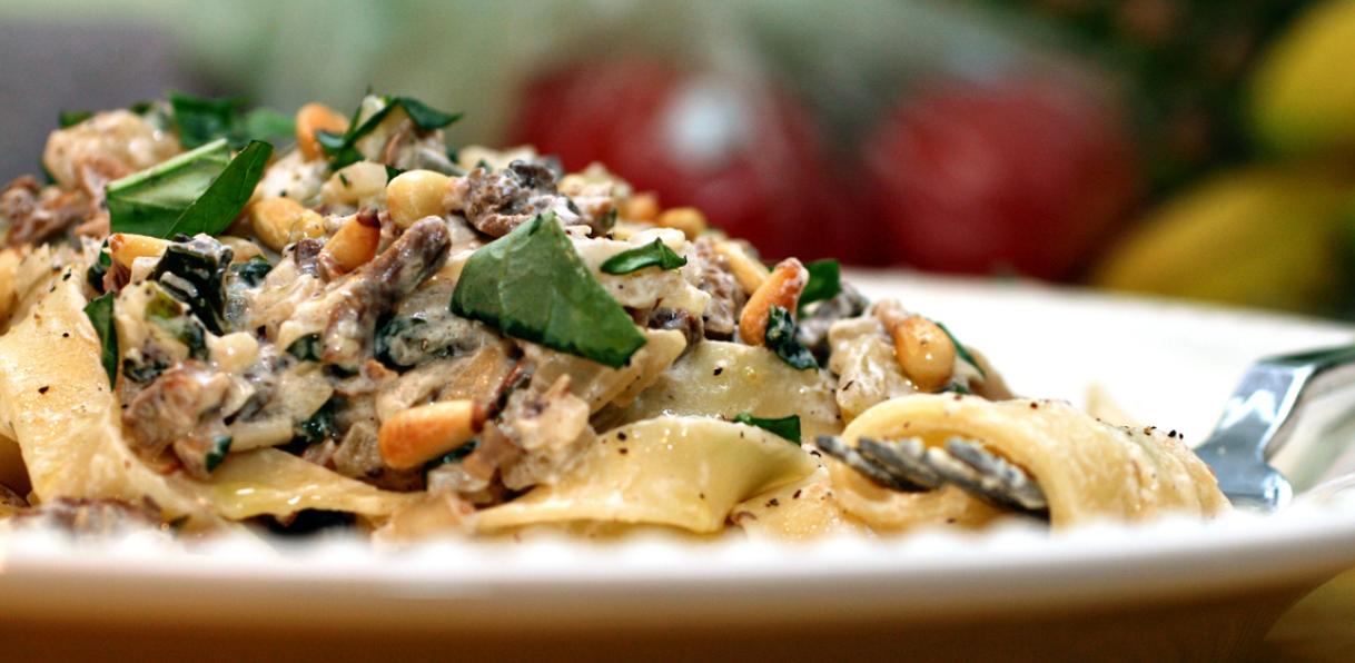 Wild Mushrom Stroganoff - what I wanted to make