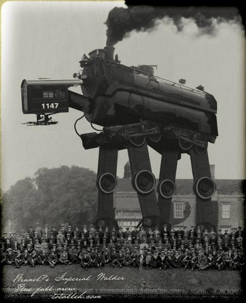 Wandering locomotive