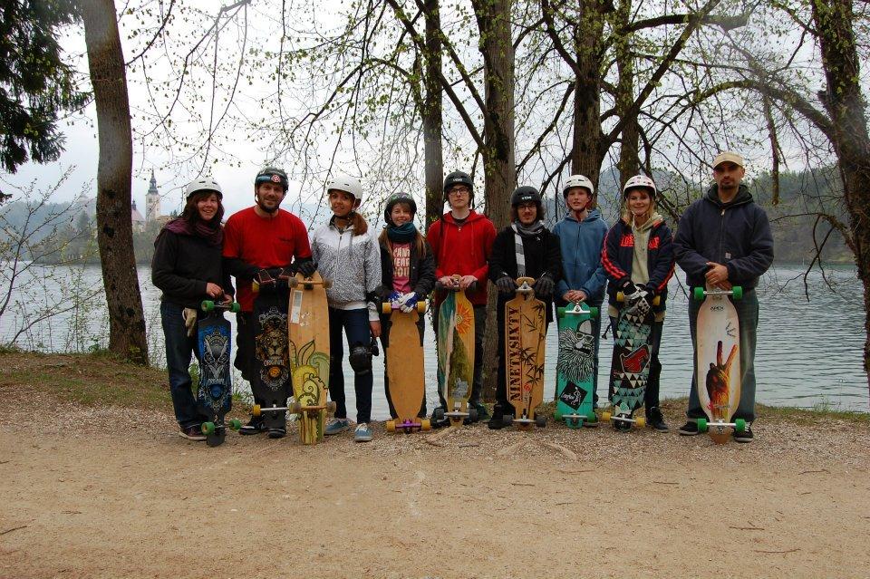 Second class group shot