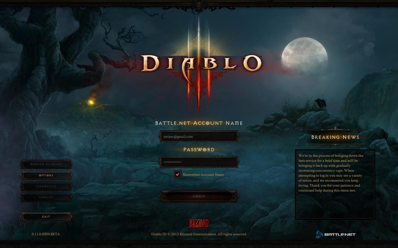 Even the login screen looks good