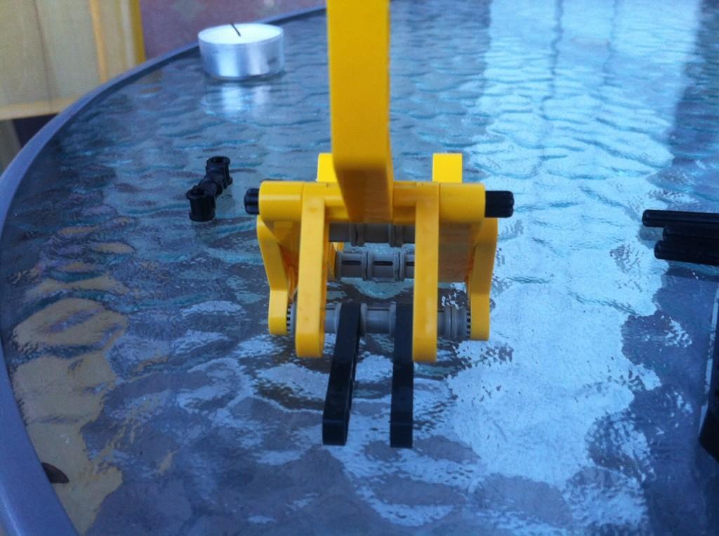 Step5: finish assembling the main body