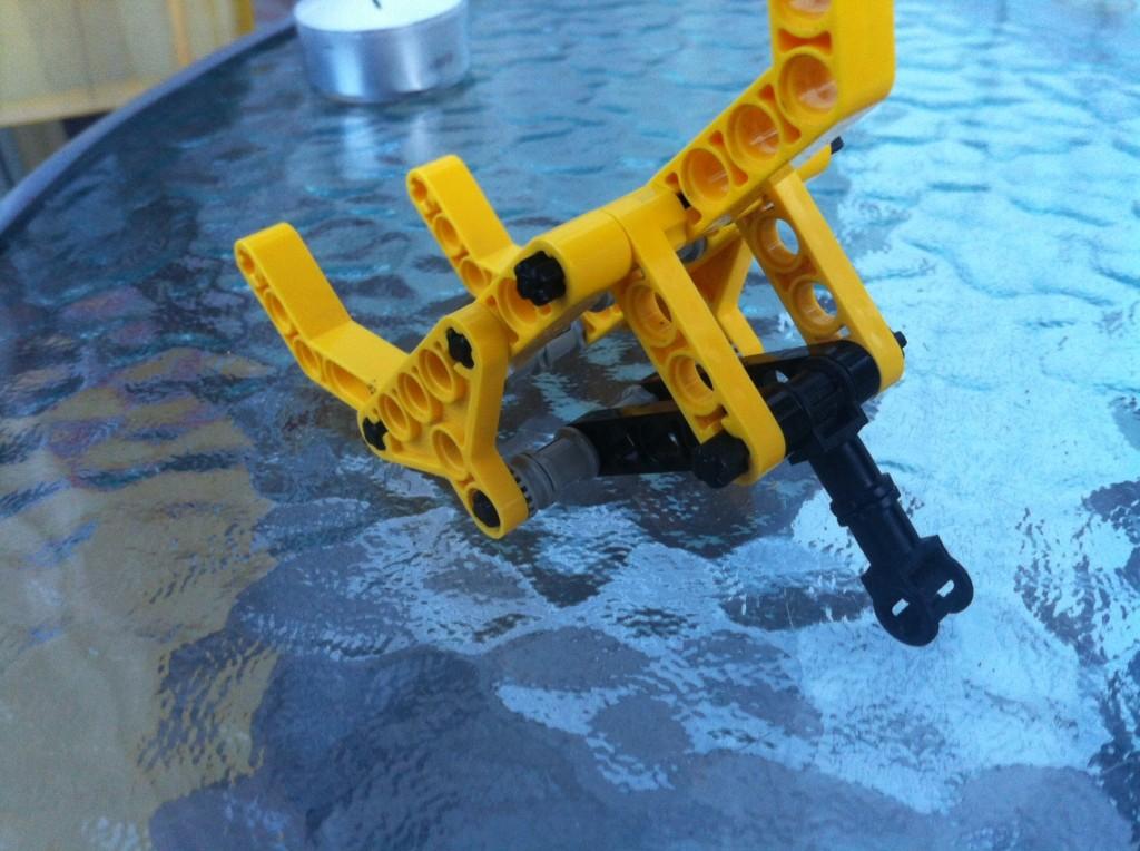 Step6: attach the main leg