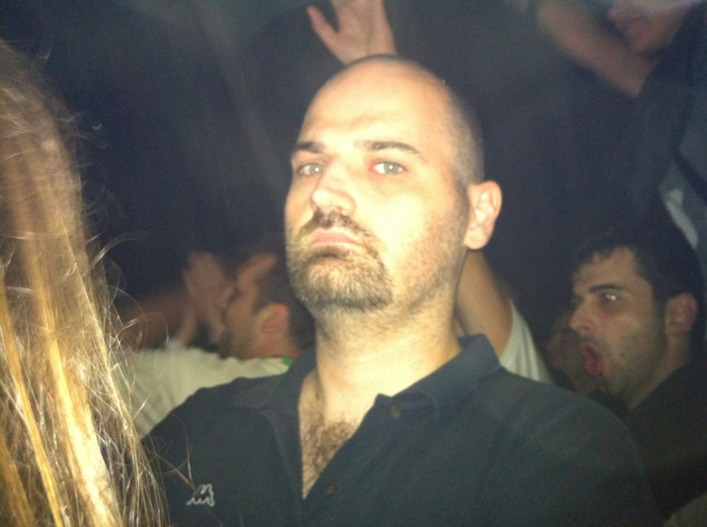 @vranac's face sums up the concert