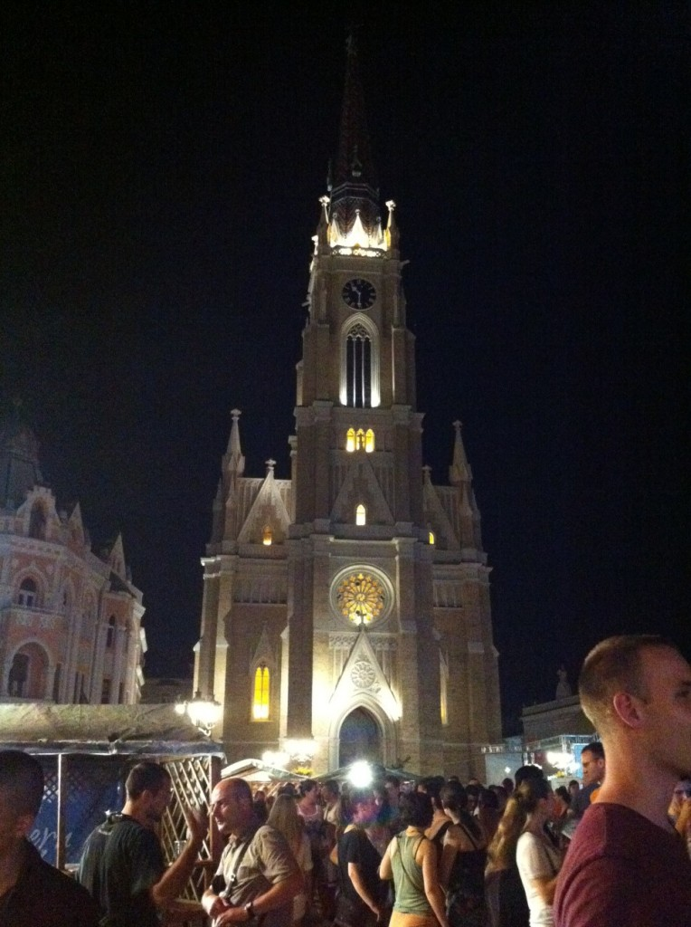 Novi Sad's epic cathedral