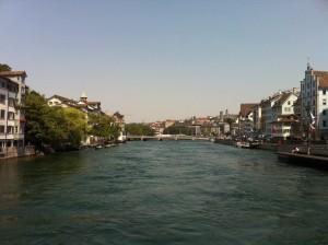Zurich river normal