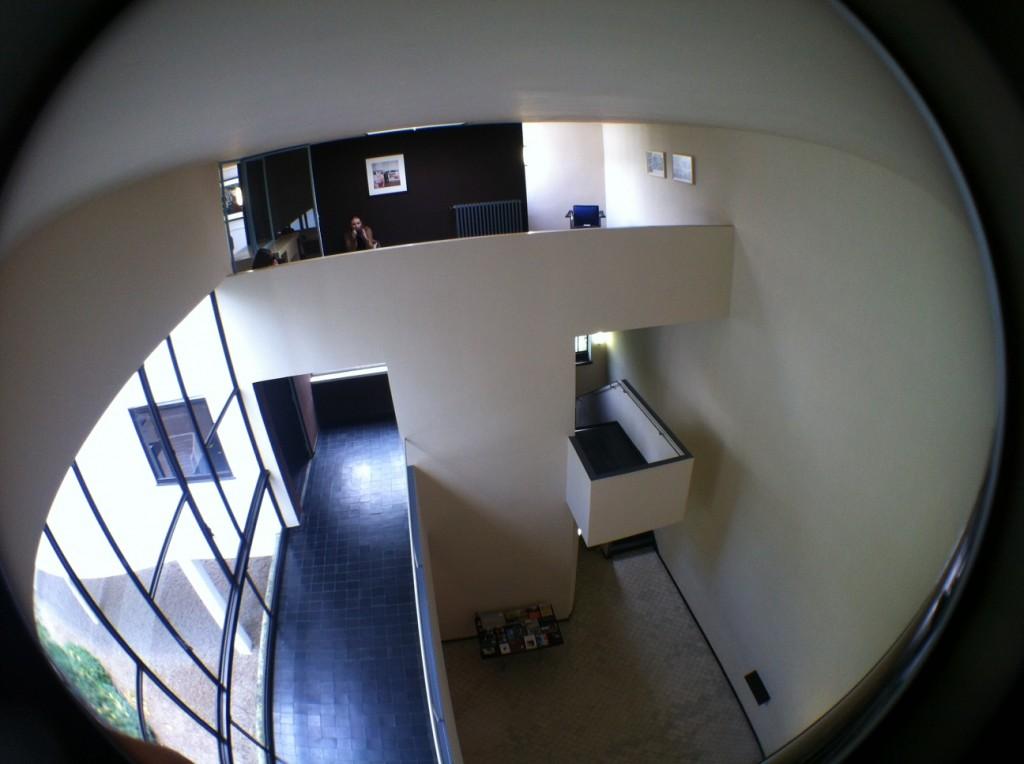 Lecourbuiser's house for an art collector