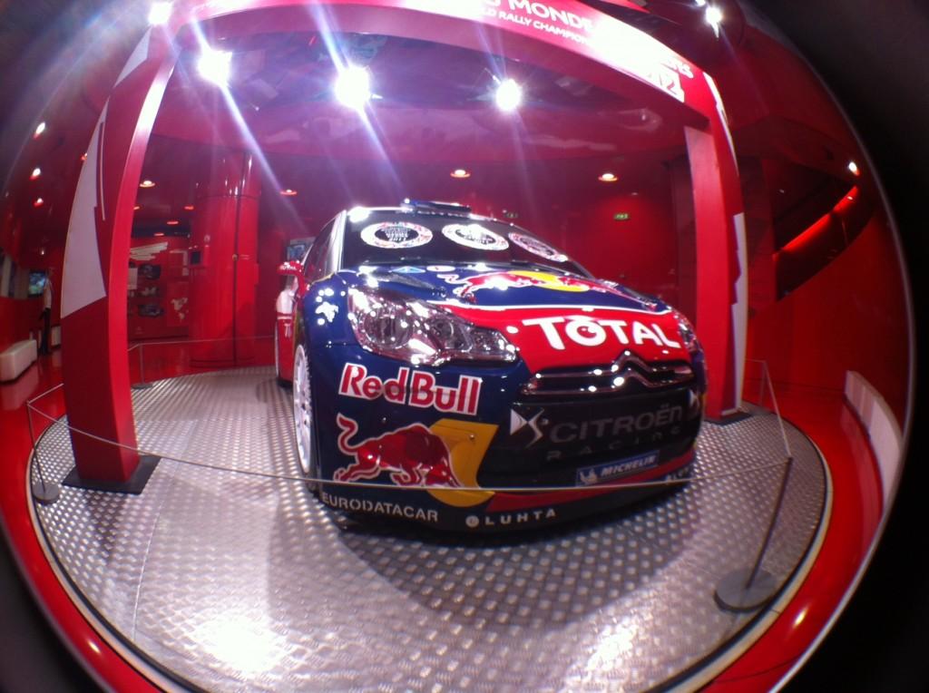 Loeb's car
