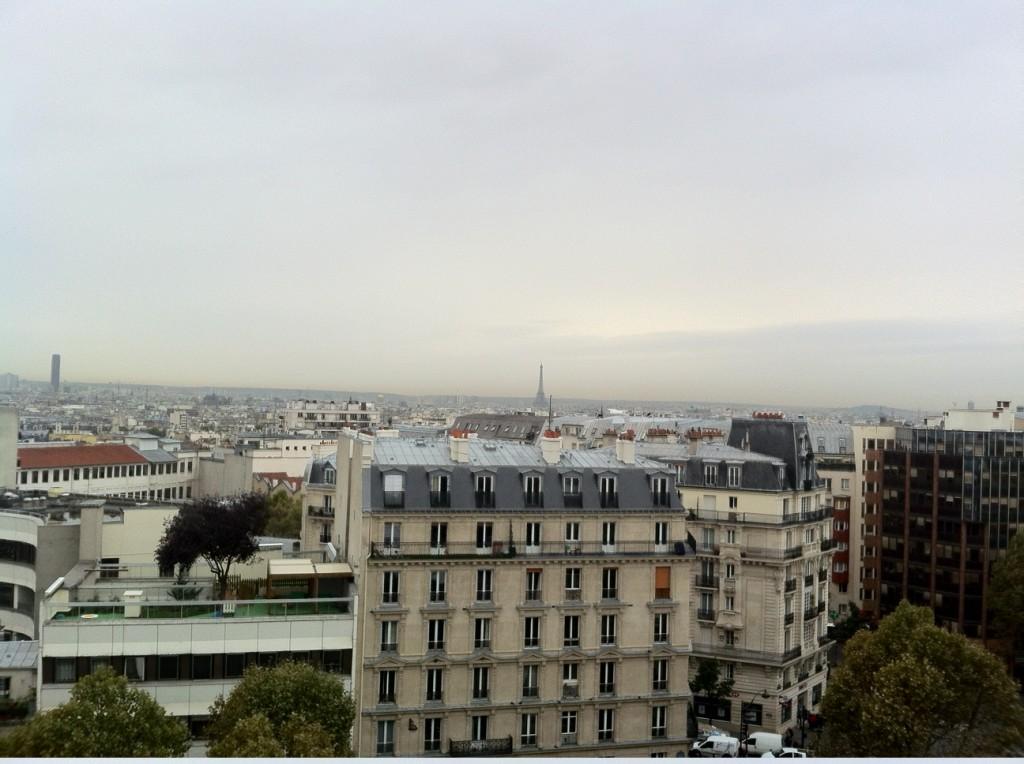 Paris panorama from Communist HQ roof