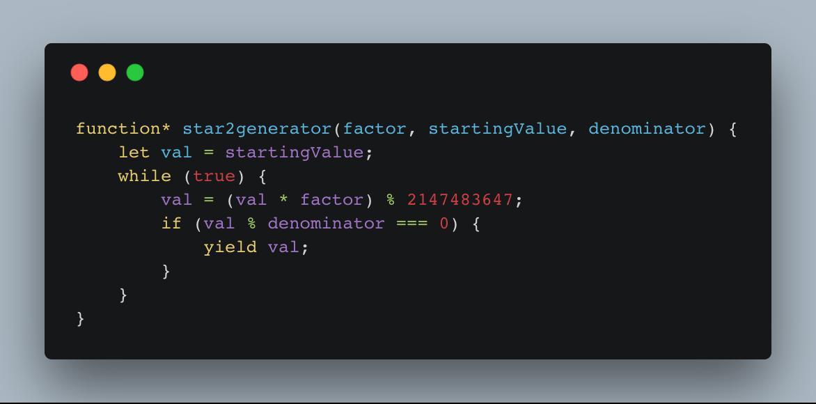 JavaScript generators are 👌